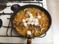 ゴーヤーと鶏肝の甘酢煮23