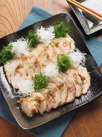 蒸鶏味噌漬け15
