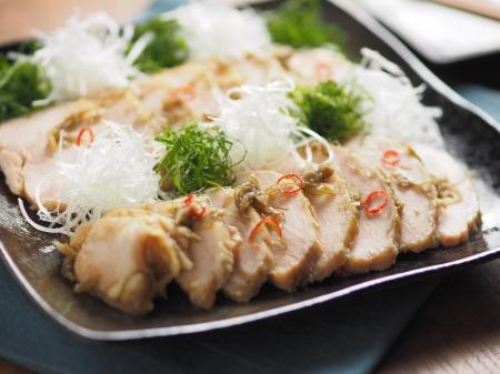 蒸鶏味噌漬け20