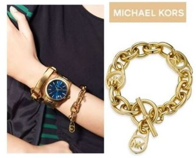 Michael Kors Logo Toggle Bracelet1