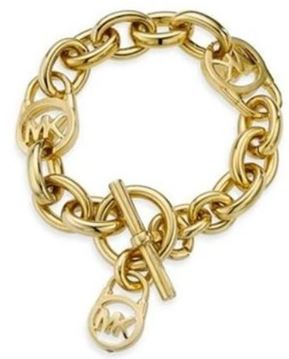 Michael Kors Logo Toggle Bracelet2