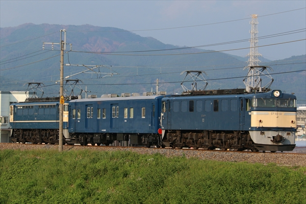 EF6019+マニ50 2185+EF65501 2014 5/23