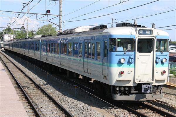 115系 C9編成 2014 5/30