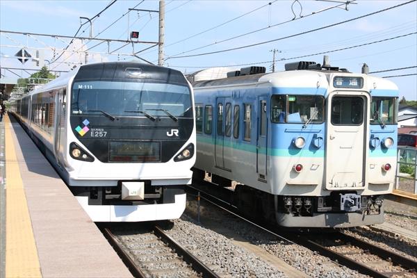 E257系 M111編成 2014 5/30