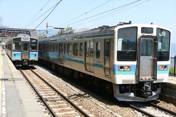 E127系 A6編成&211系N316編成 2014 5/31