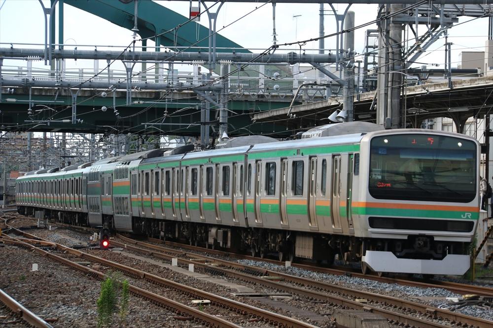E231系 U540編成 2014 6/12