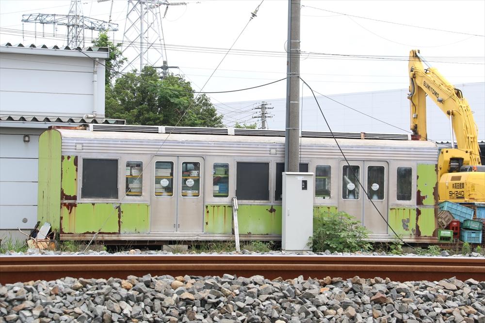 元.都営6000系廃車体 2014 6/27