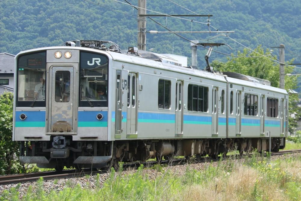 E127系 A8編成 2014 7/20