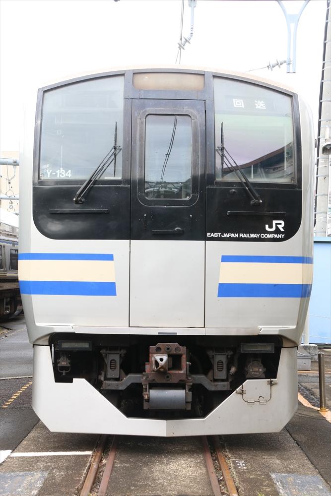 Y-134編成 2014 8/23