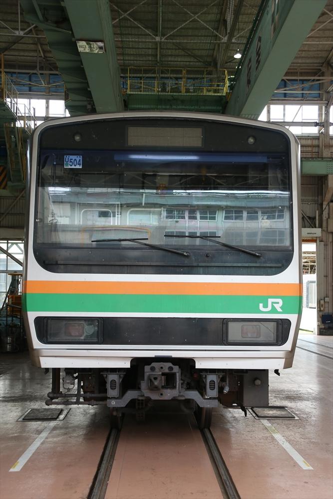 U504編成 2014 8/23