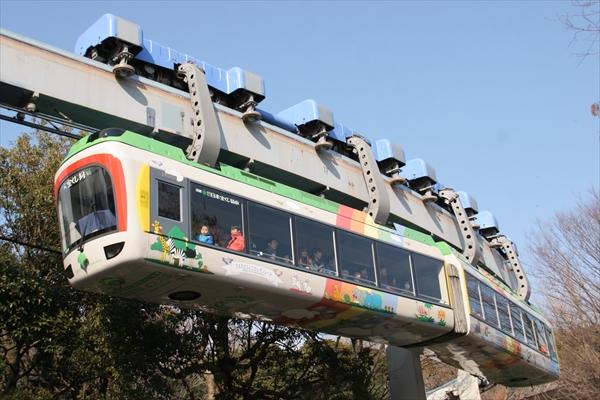 上野動物園 モノレール 2014 2/23
