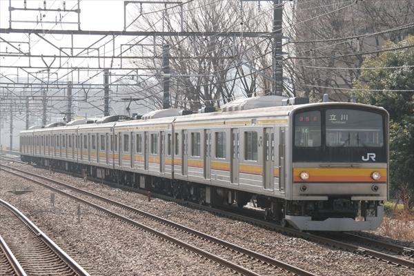 205系 ナハ14編成 2014 2/26