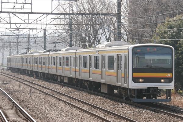 209系 ナハ32編成 2014 2/26