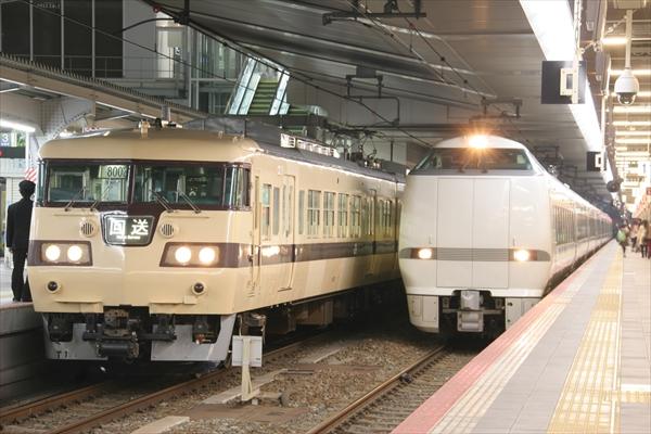 117系 T1編成&681系 2014 3/16