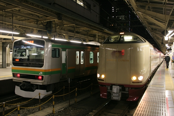 E231系&285系
