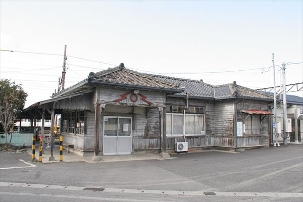 旧.新村駅舎 2014 3/27