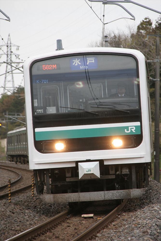 E501系 K701編成 2014 4/20