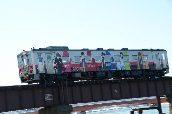 「ルパン三世」のラッピング列車