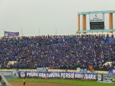 インドネシアサッカーゴール裏