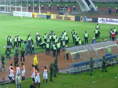 インドネシアサッカー警察
