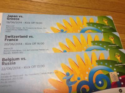 ワールドカップチケット