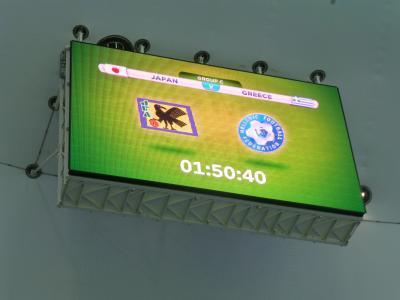 ワールドカップ電光掲示板