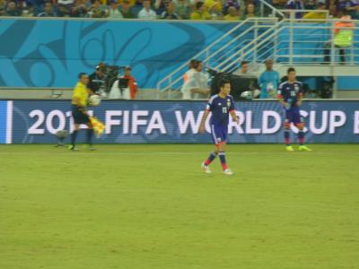 ワールドカップ今野2