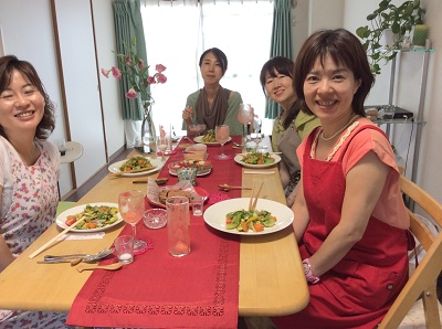 北九州校でローフードパーティー平成26年7月31日