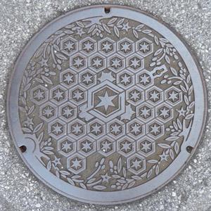 彦根市マンホール蓋blog01