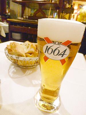 クローネンブルク1664のドラフトビール