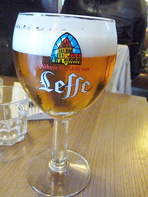 パリで注文したベルギービール