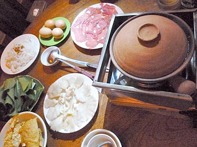 チュナンダイ(カンボジアの牛鍋)