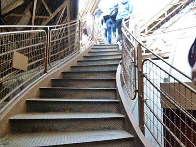 階段をのぼるよ~