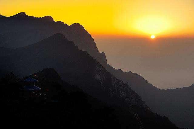 中国 廬山6