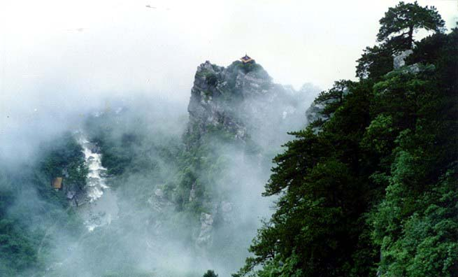 中国 廬山2