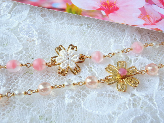 桜咲くブレスレット3