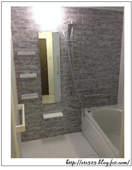 現実の完成浴室