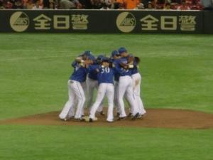 勝利の儀式in東京ドーム!