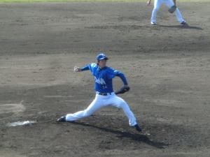 平田投手@名護