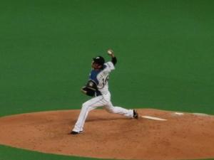 中村勝投手、素晴らしかったです!