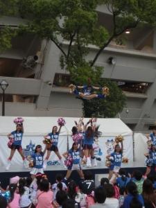 奈菜さんが、飛翔する!
