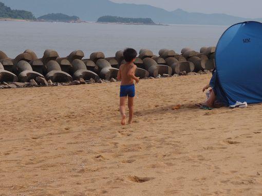 宝伝海水浴②