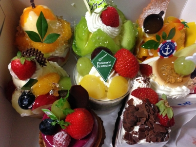 27歳誕生日ケーキ
