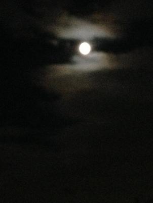 9月スーパームーン前夜