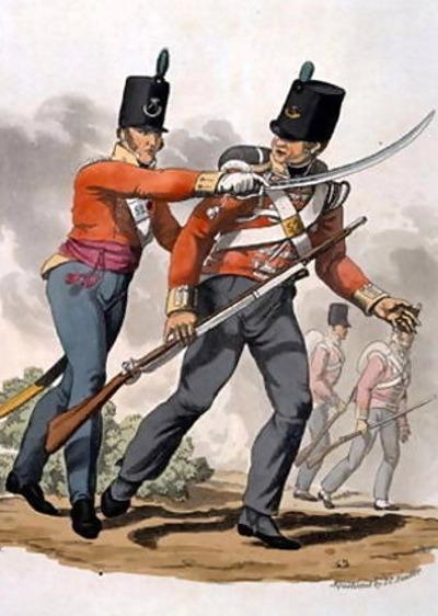 lightinfantryナポレオン戦記 イギリス軍 軍服図鑑うっしのしの刻参利後寸金丁釘自動人形