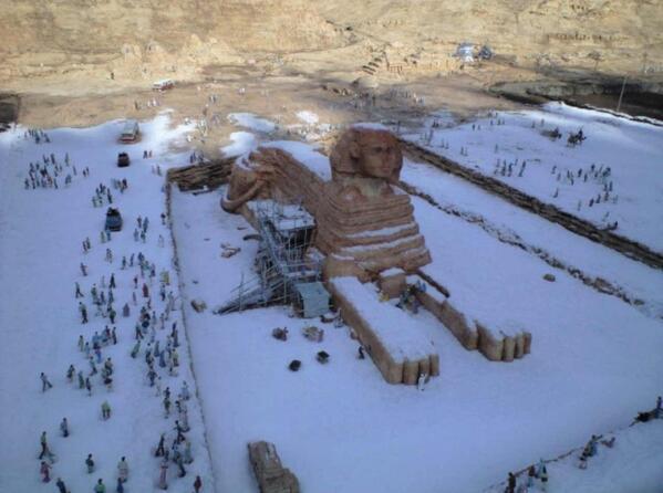 7a481e33エジプトで歴史上初めての積雪2013年12月13日