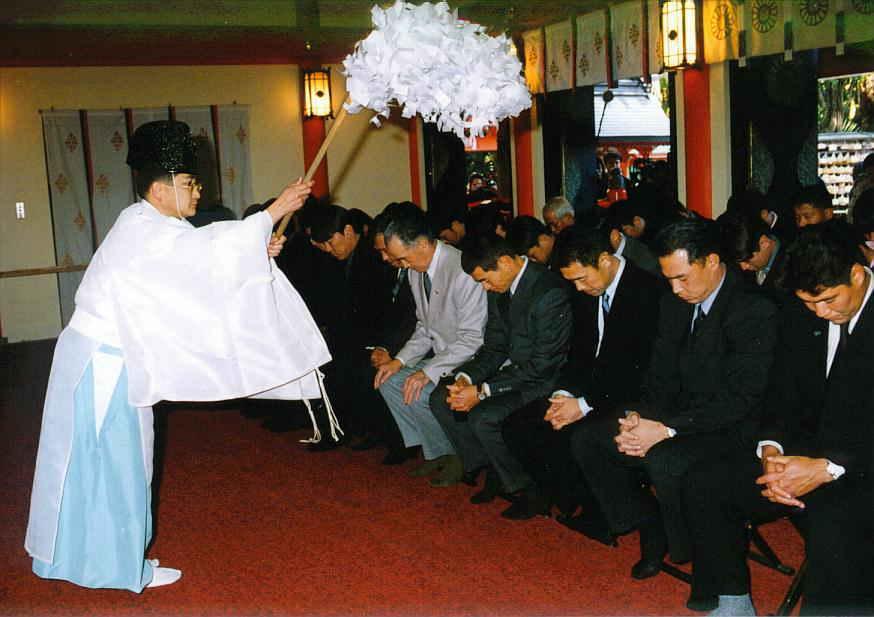 kyozinn-oharai大チョン簿の荘厳で霊験あらたかな儀式、騙す嫁す韓塗師の前で頭ペコペコ下げ捲りのマザコン供