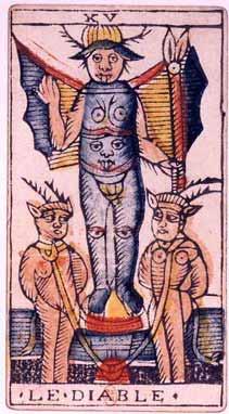 Jean_Dodal_Tarot_trump_15悪魔 (タロット) - Wikipedia