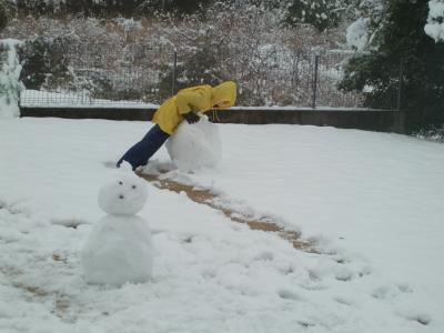 雪だるま3
