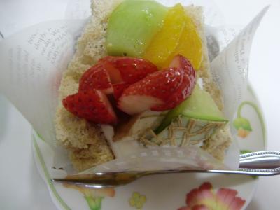 甘泉堂ケーキ